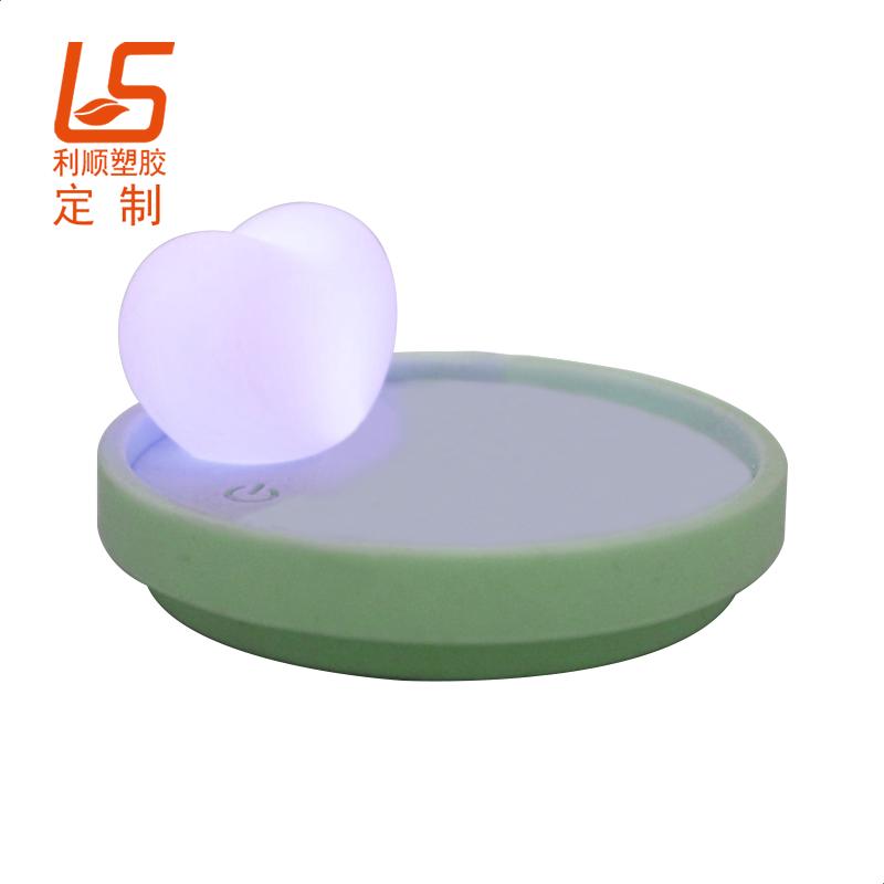 硅胶LED杯盖,万圣节发光礼品