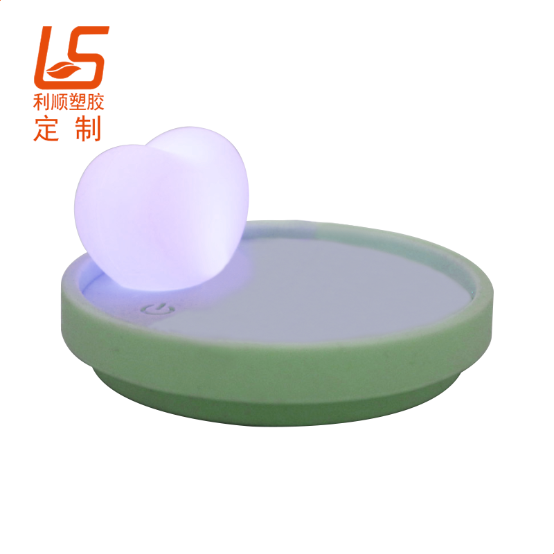 LED发光硅胶杯盖
